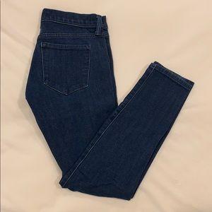 Banana Republic Blue Skinny Jeans